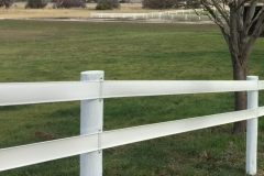 2-rail-horse-fence-on-white-timber-posts-Tasmania-480549