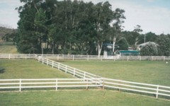 Safe Horse Fencing, elevated shot