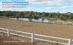 dressage arena fence kit