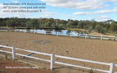 dressage arena fence kit