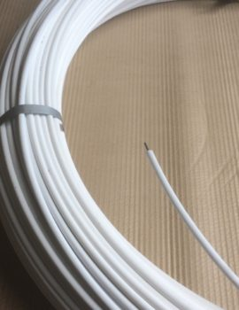 plastic coated fence wire white 250 metre roll