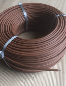 plastic coated horse fence wire bron 250mtr roll