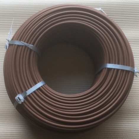 250 metre roll of plastic coated horse fence wire