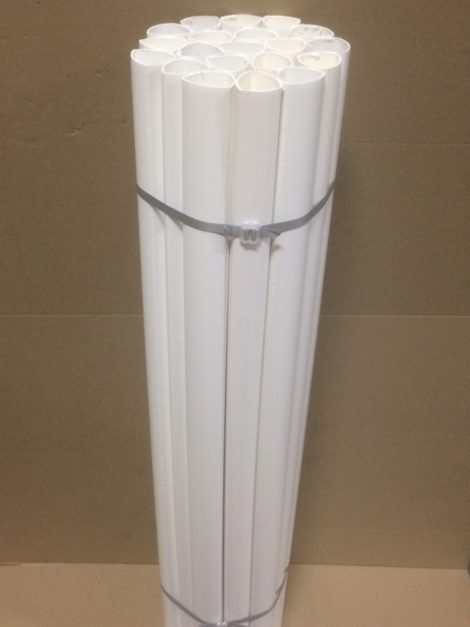 bundle of 20 white picket sleeve upright