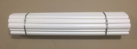 bundle of 20 white picket sleeve side