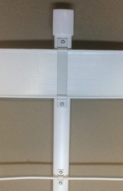 picket sleeve with 120mm rail and PCW