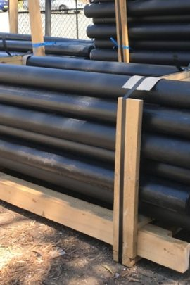 black plastic fence posts for horse arena