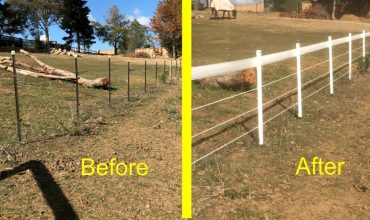 feature transform your horse fence