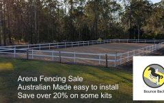 horse arena fencing sale 2018